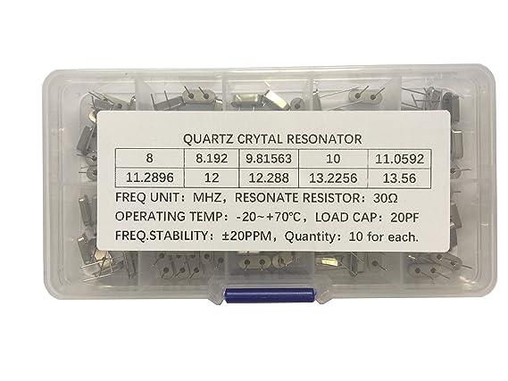 3 St Quartz 11.000.000Hz 11 MHz HC-49//U HC49U NEW