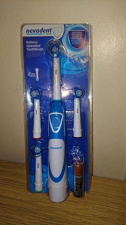 nevadent® batería de cepillo de dientes – Compatible con Oral-B ® y denta