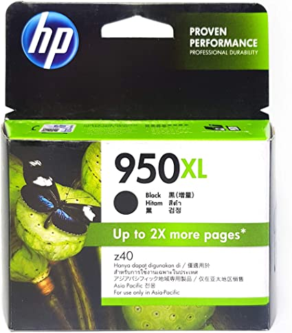 HP 950XL Black - Cartucho de tinta para impresoras (Negro, 2300 páginas, HP Officejet Pro 8600, -40-60 °C, 5-35 °C, 10-90%): Amazon.es: Oficina y papelería