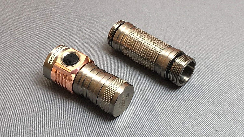 Selected-lights EMISAR D4TI RAW - XP-L HI V2 3A, 5000K
