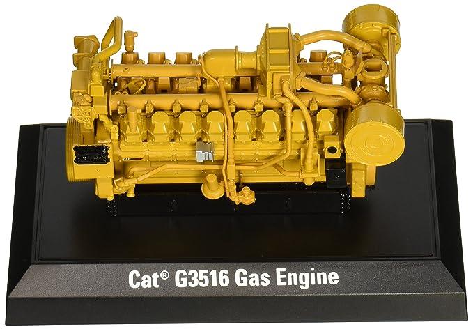Cat G3516 Gas Engine 1 25 Scale Caterpillar Yellow