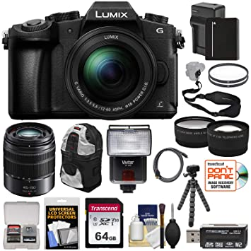 Amazon.com: Panasonic Lumix dmc-g85 4 K Wi-Fi Cámara Digital ...