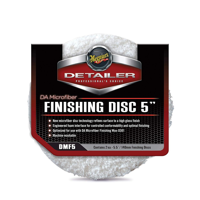 Meguiar's DMF5 DA 5' Microfiber Finishing Disc, 2 Pack