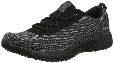 Gola San Luis, Zapatillas de Deporte para Exterior para Mujer, Negro (Black/Grey), 36 EU