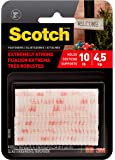 Scotch Brand Interlocking Fasteners, 2 Sets, Clear