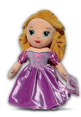 Rapunzel 30cm Muñeca de Peluche Princesa Disney Chica Niña