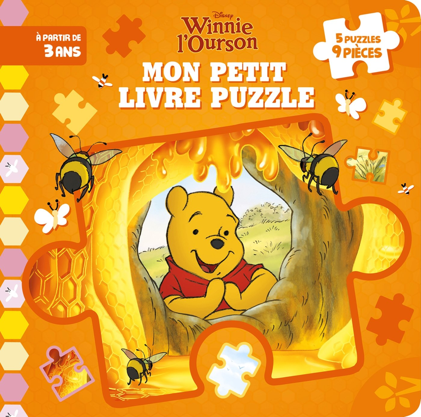 Mon Petit Livre Puzzle Winnie L Ourson 9782017054542