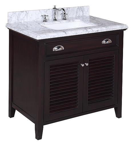 Kitchen Bath Collection KBC-SH36BRCARR Savannah Bathroom ...