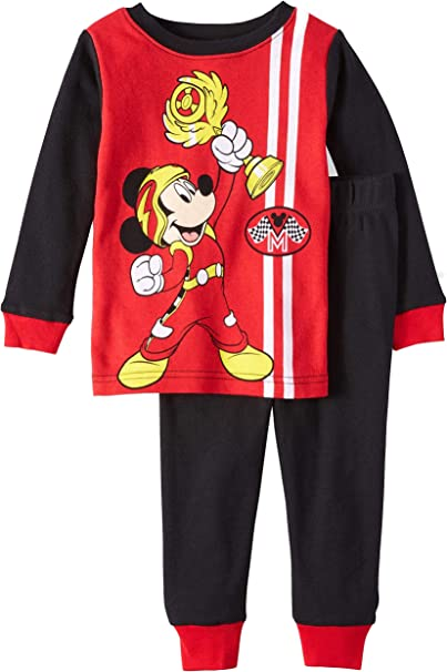 Disney Boys Mcikey and The Roadster Racers Two Piece Swim Set