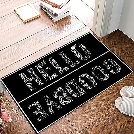 Amazon Com Olivefox Funny Waterproof Bathroom Doormat Home Decor