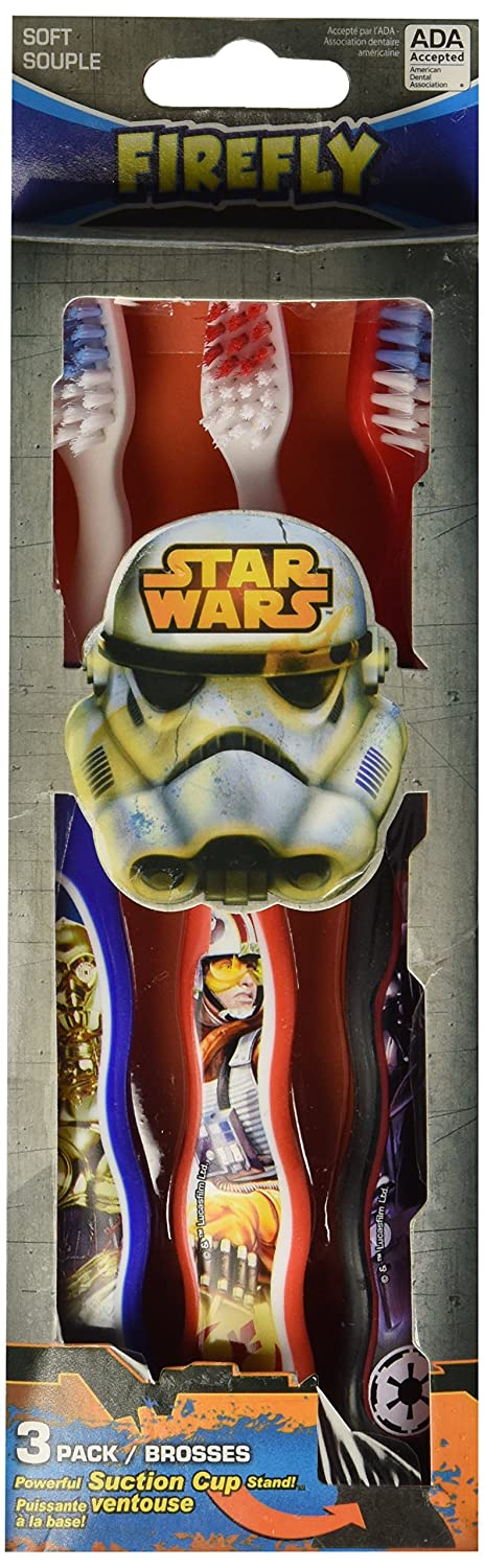 Star Wars 3 pack Firefly toothbrushes 64-02-64053-24