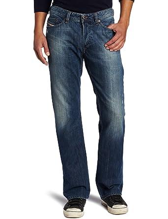 ad3edb7d Amazon.com: Diesel Men's Viker Regular Slim Straight Leg Jean 0803F ...
