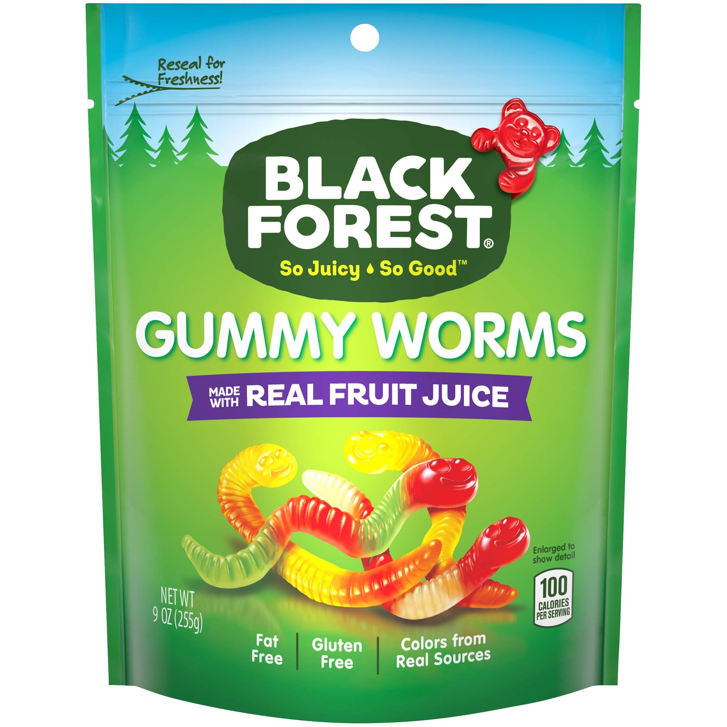 Black Forest Gummy Worms, 9 Oz.