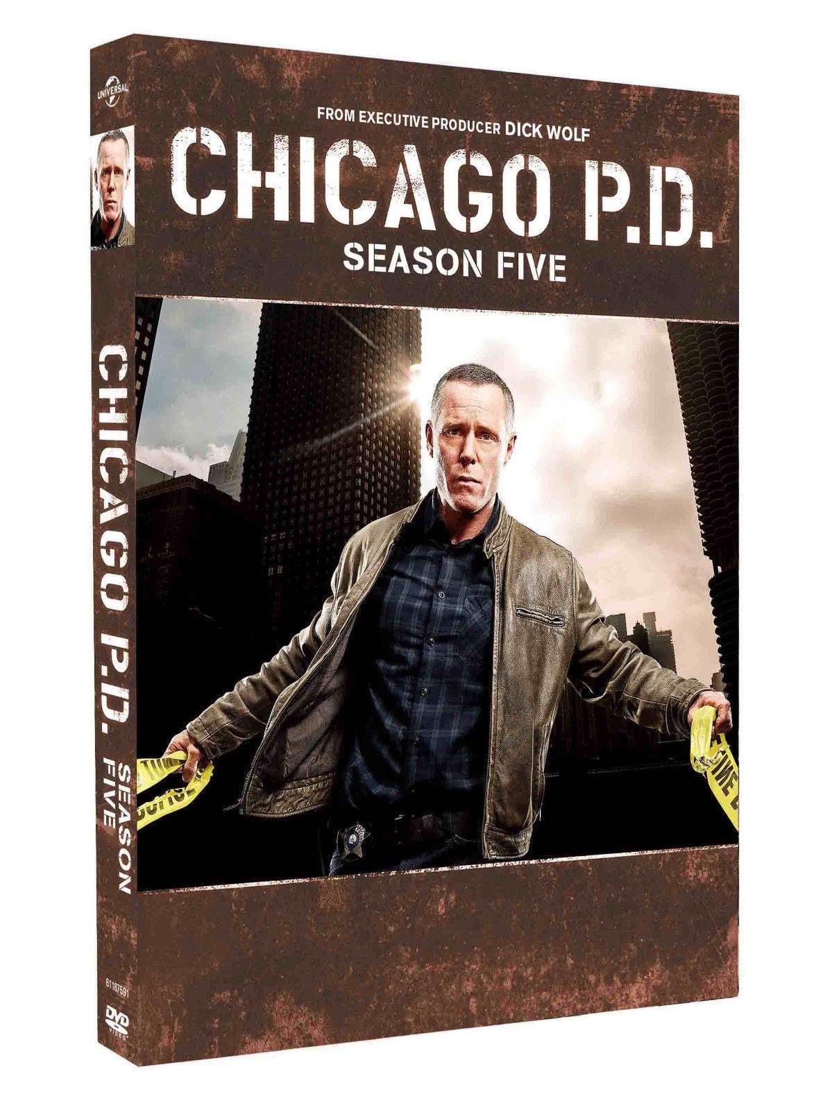 Chicago P.D. Season 5 (DVD,2018,5-Disc) New
