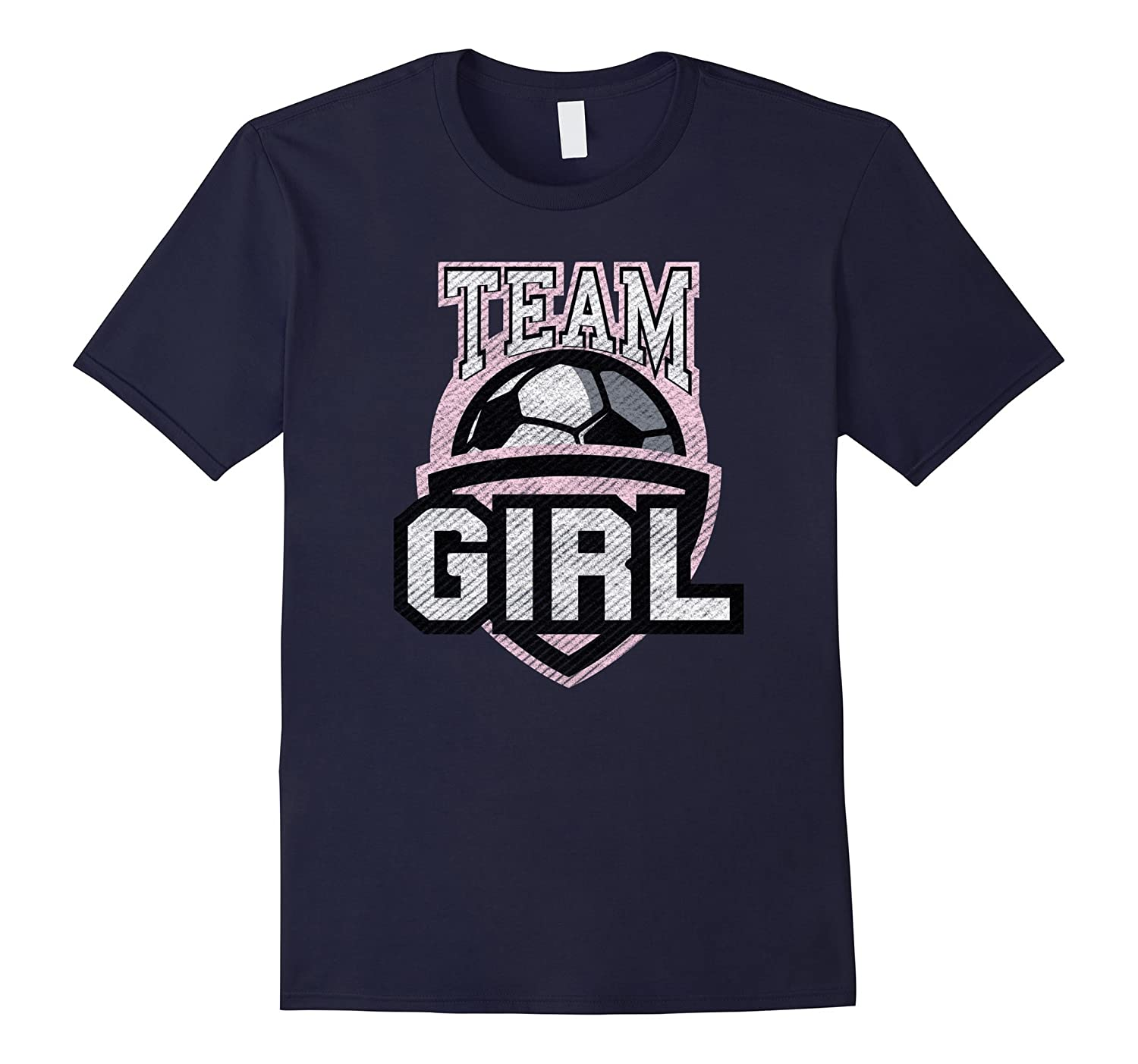 Team Girl Gender Reveal Shirt Pink Baby Party Games Gift Tee-FL