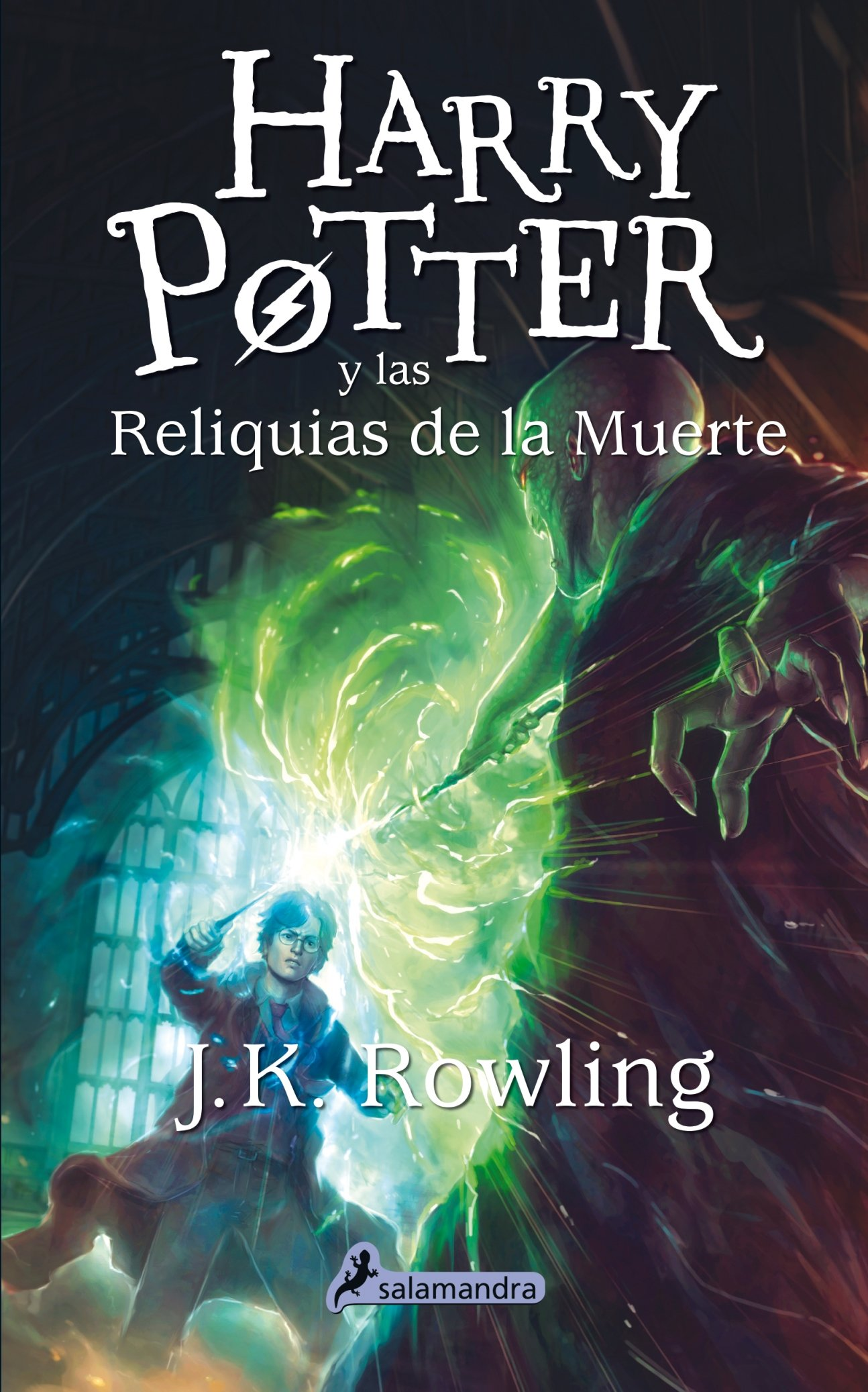 Harry Potter y las reliquias de la muerte (Harry 07) (Spanish Edition): J.  K. Rowling: 9788498387001: Amazon.com: Books