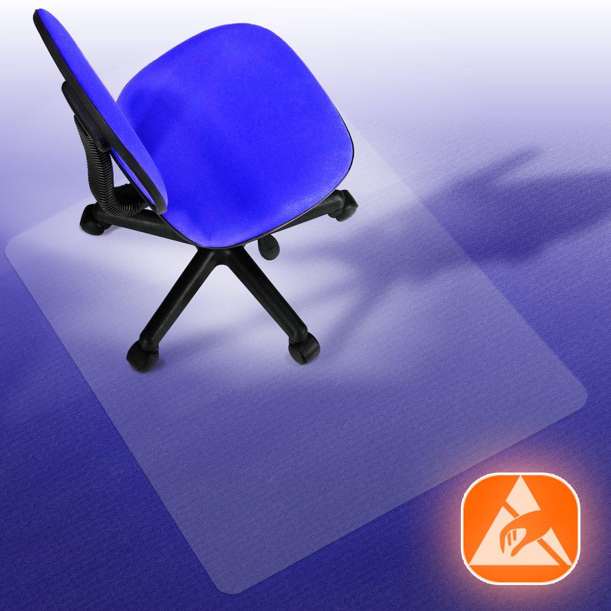 PERFORMA® Antistatik Bodenschutzmatte für Teppiche und Teppichböden