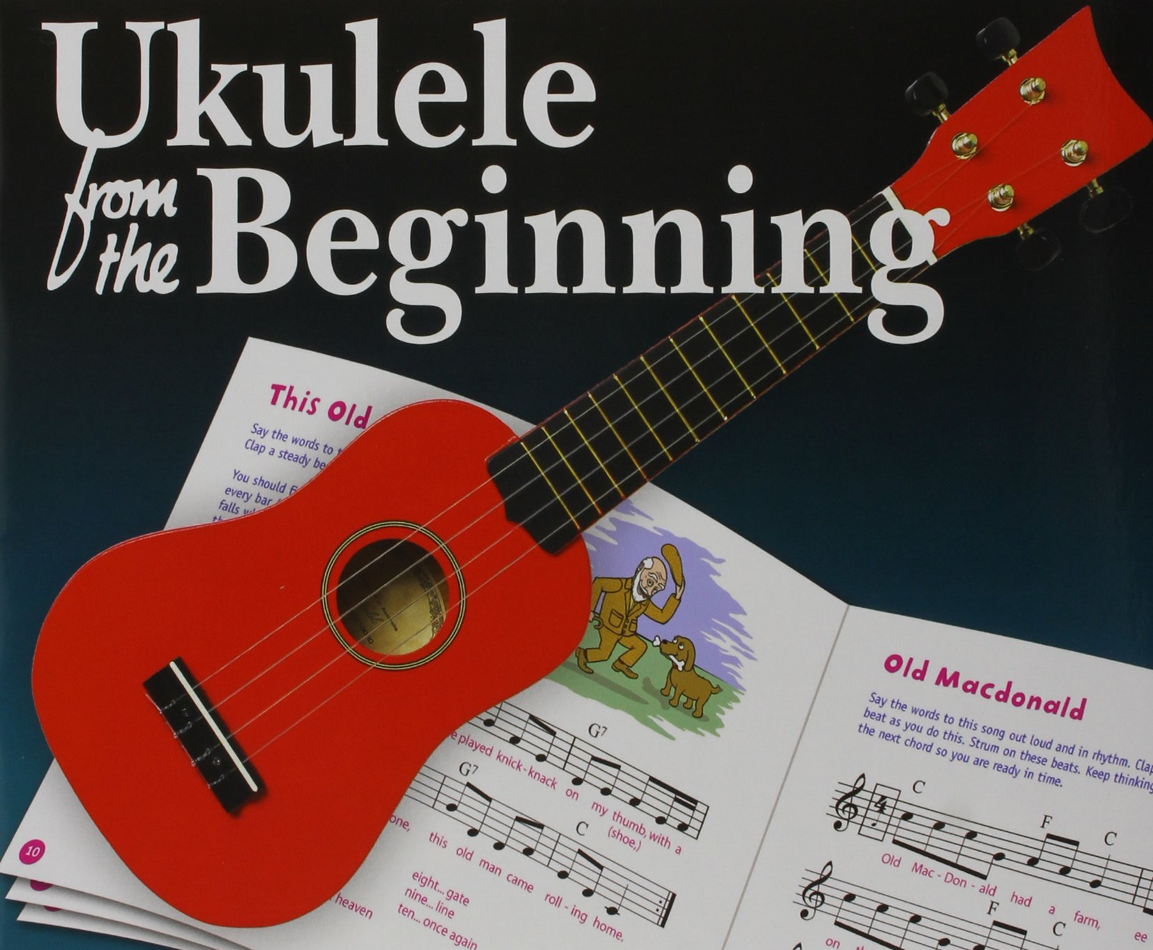 Amazon Ukulele From The Beginning Book 1 2 Bumper Pack