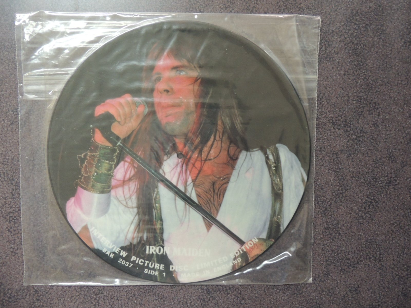 Bruce Dickenson Interview Picture Disc