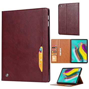 Fdbark Funda para Samsung Galaxy Tab S5e,Flip Wallet Funda ...