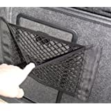 9 MOON Kofferraum Auto Gepäcknetz Auto Rücksitz Organizer Hintere Lagerung Gepäck-Seil Gepäcknetz Ladenetz Lagernetz, 1 Stück