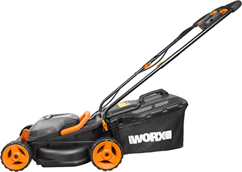 WORX Cordless 34cm Lawn Mower - Best for Dense Grass