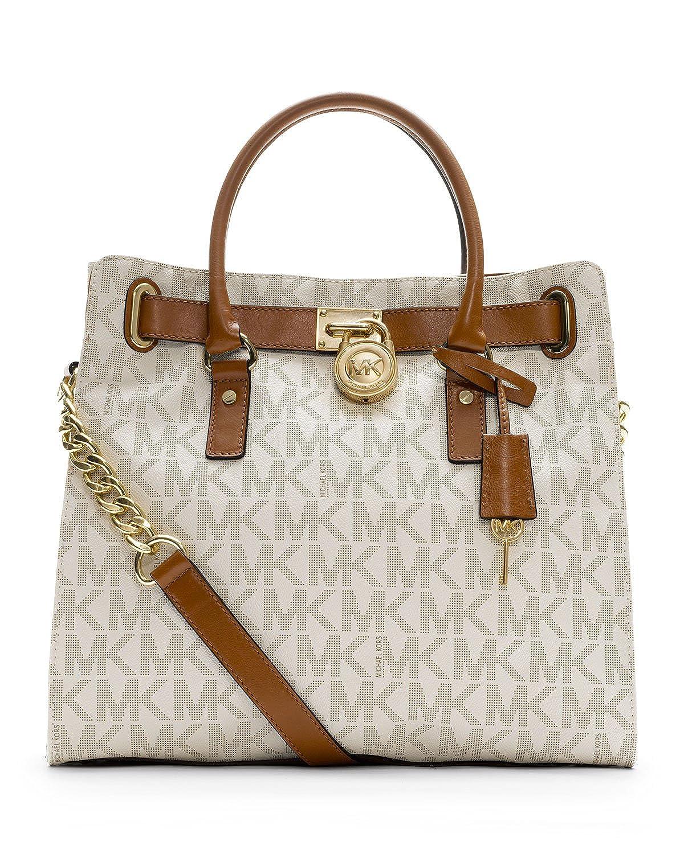 MICHAEL Michael Kors Hamilton N/S Tote (Pale Pink): Handbags: Amazon.com