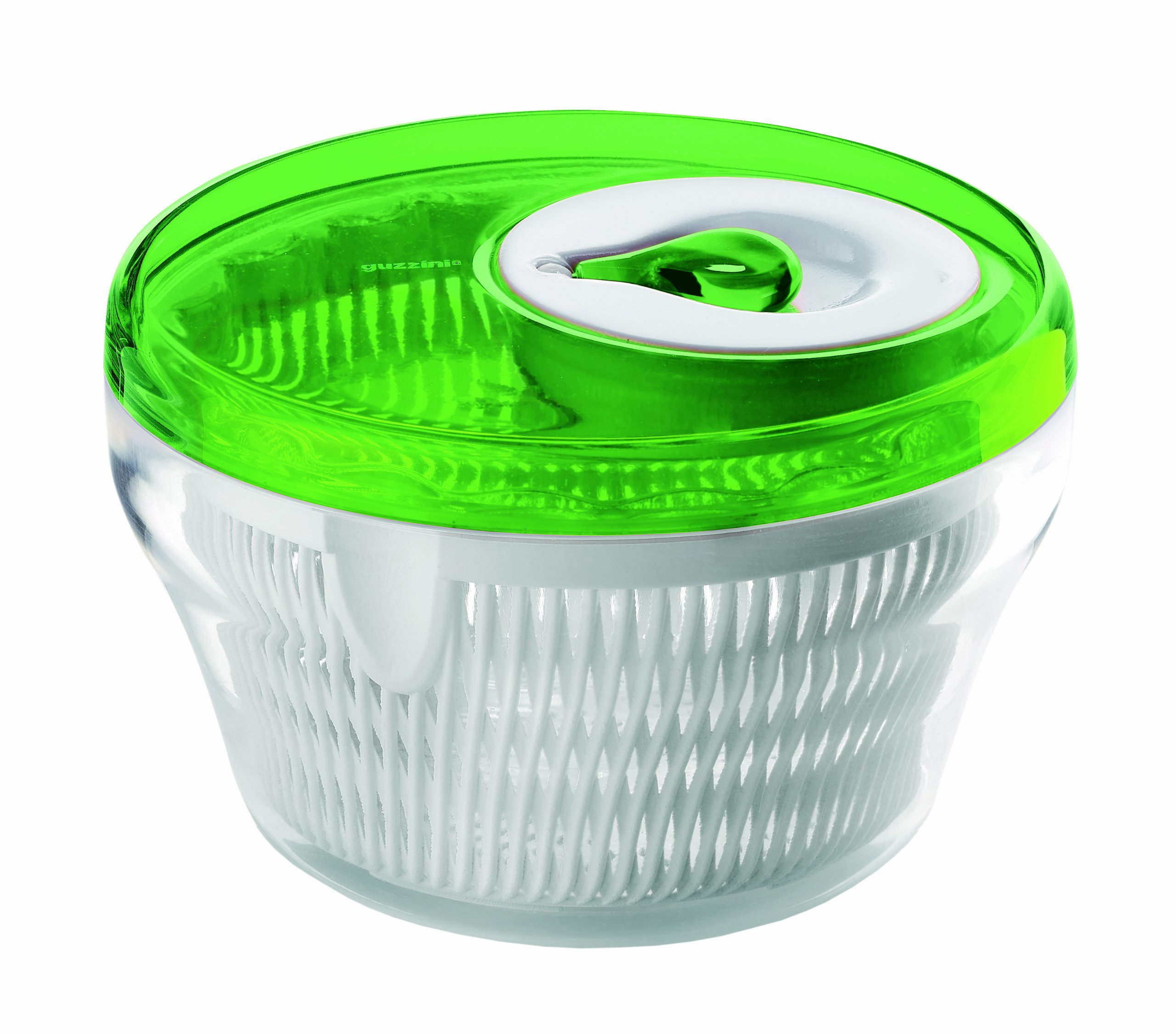Latina 11'' Salad Spinner in Green by Guzzini