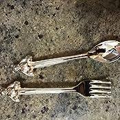 Spoon 1 X Silverplated Baby Bear Bowl Fork Set by Elegance Silver Goldia goldia-JGM6900