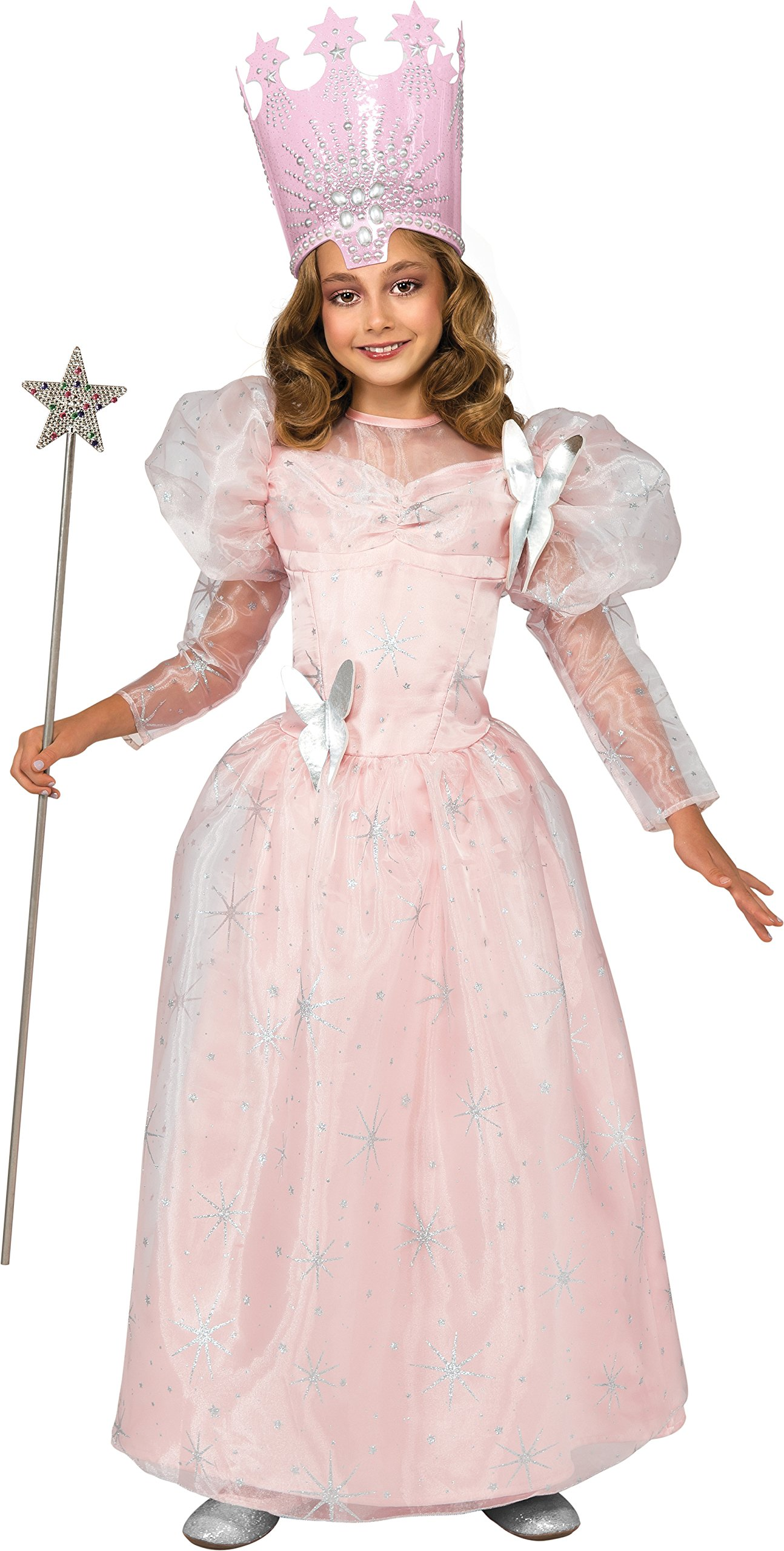 Wizard of Oz Deluxe Glinda The Good Witch Costume, Small (75th Anniversary Edition) by Rubie's