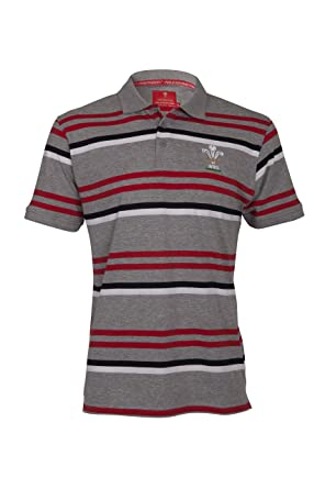 fbc988f69b1 Wales Rugby Union Men's Classic Polo Shirt: Amazon.co.uk: Clothing