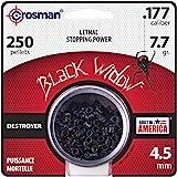 Crosman CBW776P .177-Caliber Premier Black Widow Pellets (250-Count)