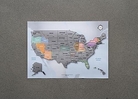 Us Map Poster Amazon amazon com pro football stadium map poster