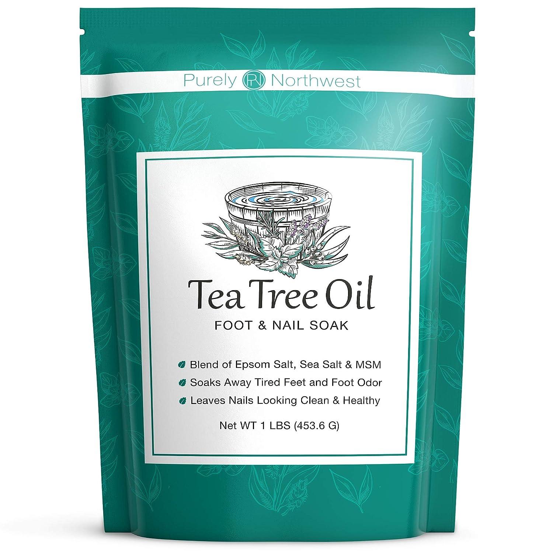 Purely Northwest 16 Oz Foot & Body Soak Tea Tree Oil $12.10 Coupon