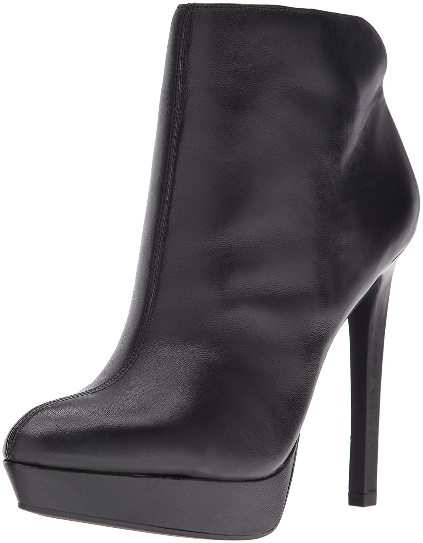 Jessica Simpson Women's Zamia Ankle Bootie B01EVJ54PG 8 B(M) US|Black