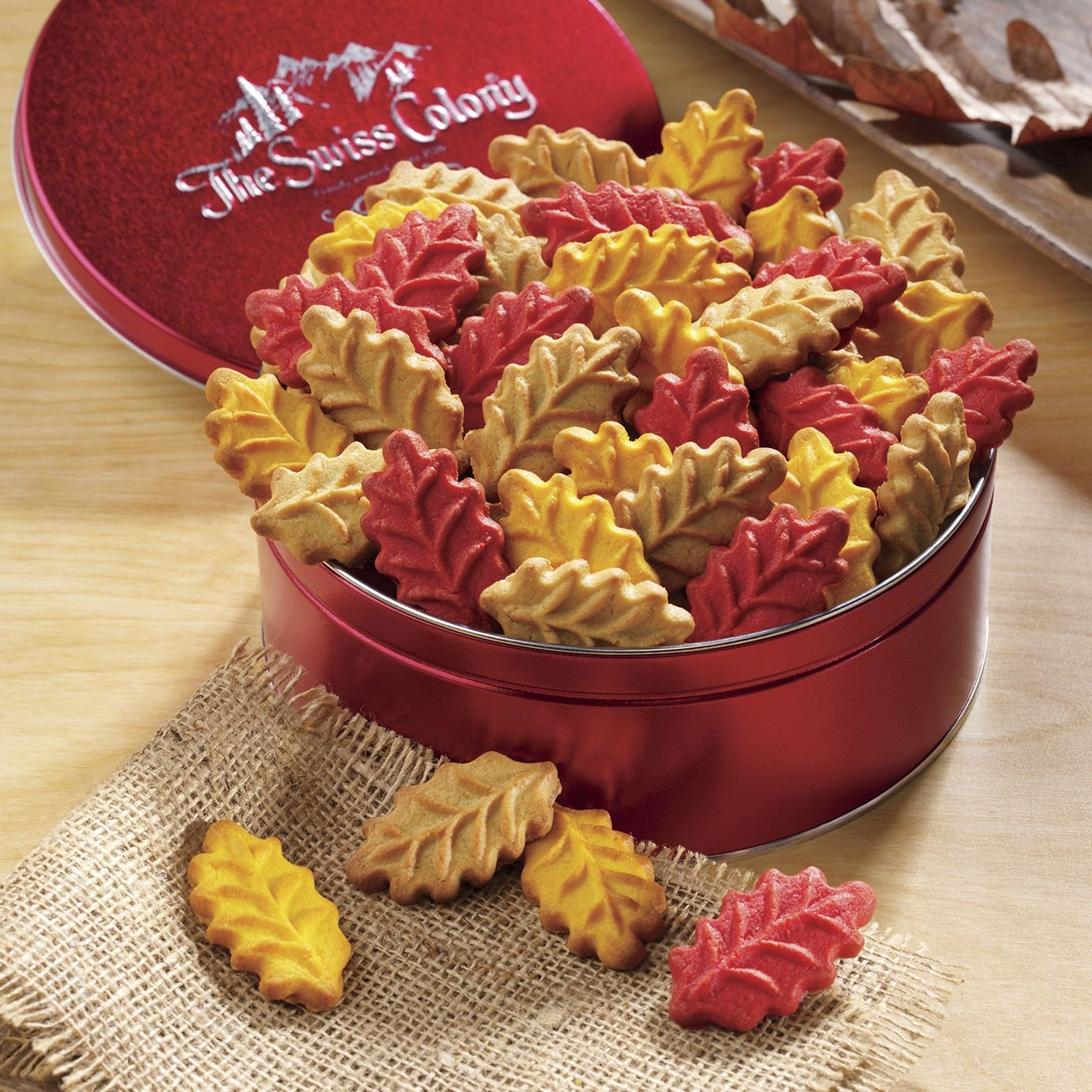 Almond Leaf Cookies from The Swiss Colony