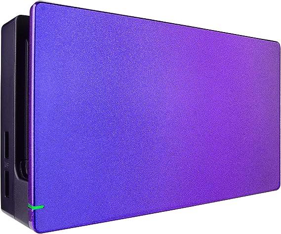 eXtremeRate Protector para Dock de Nintendo Switch Dock Cover Carcasa Accesorios Funda Dock Placa Personalizada Shell de Reemplazo Case para Nintendo Switch Dock-No Incluye Dock(De Azul a Violeta): Amazon.es: Electrónica