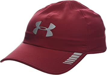 Under Armour Mens Launch AV Cap Gorra, Hombre, Rojo (Aruba Red/Aruba Red/Silver 651), Talla única: Amazon.es: Ropa y accesorios