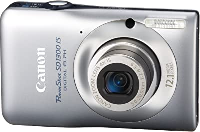 Canon PowerShot SD1300 IS 12.1 MP Digital Camera