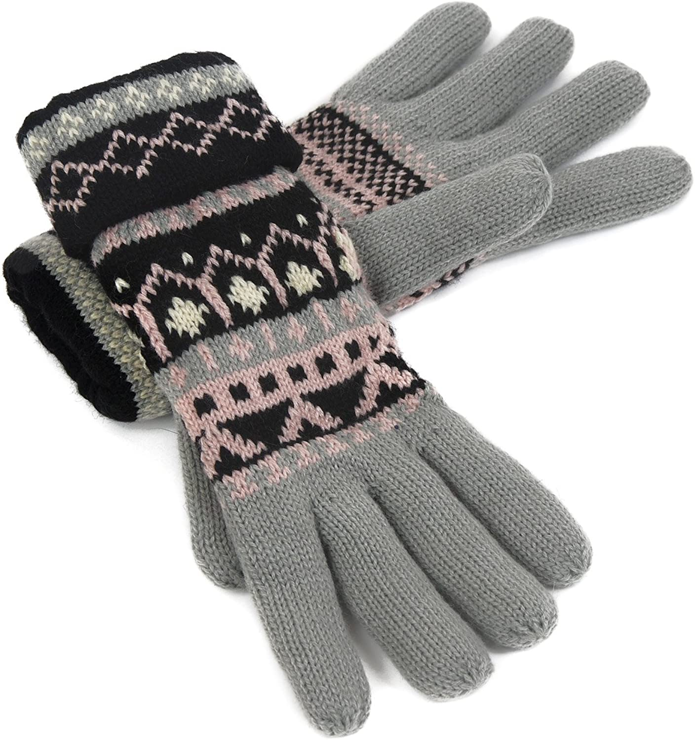 Cozy Women's Knitted Gloves...
