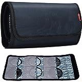 Filter Case, CADeN 6 Pocket Camera Lens Filter Pouch Bag for 25mm-86mm Filters Waterproof