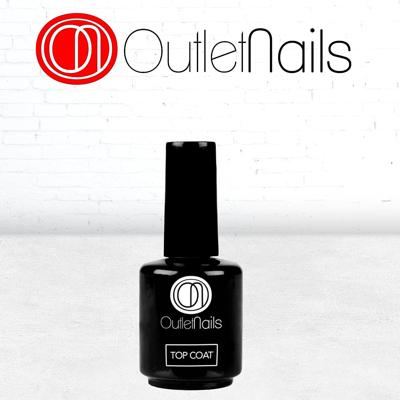 Top Coat 15ml / UV/LED Top coat 15ml / Fácil de retirar / Outlet Nails Alta calidad Ser Beauty S.L.