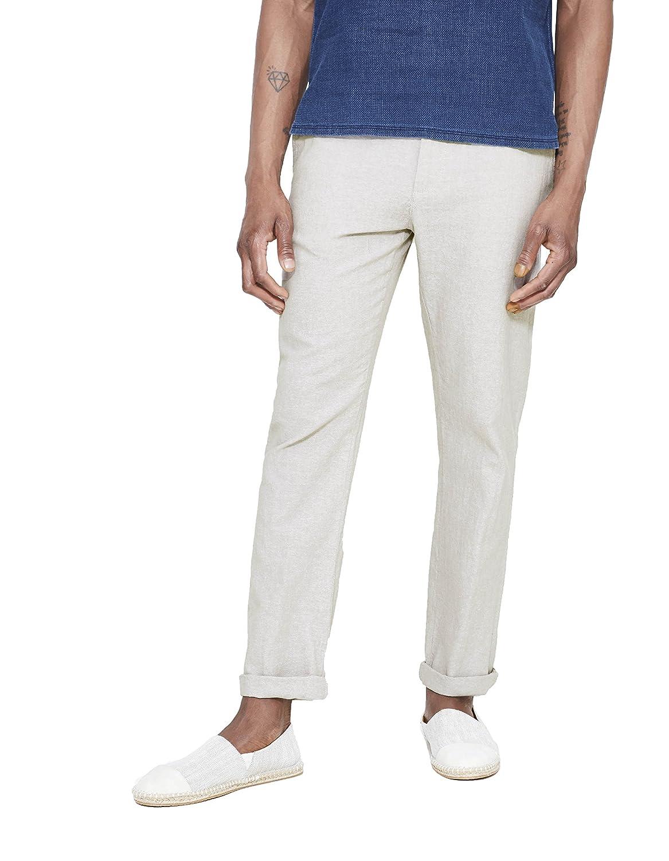 TALLA 38W / 34L. Celio Gojollin, Pantalones para Hombre