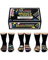 6 Verrückte Socken 15 Kombis - Oddsocks Brights & Stripes