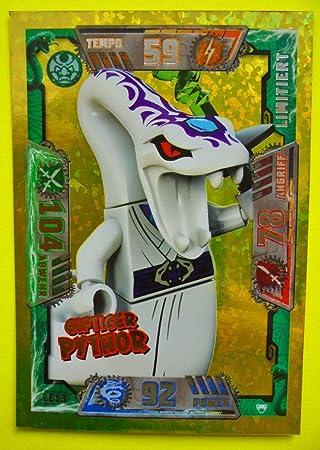 Lego Ninjago Serie 2 Trading Card Game Le13 Giftiger Pythor