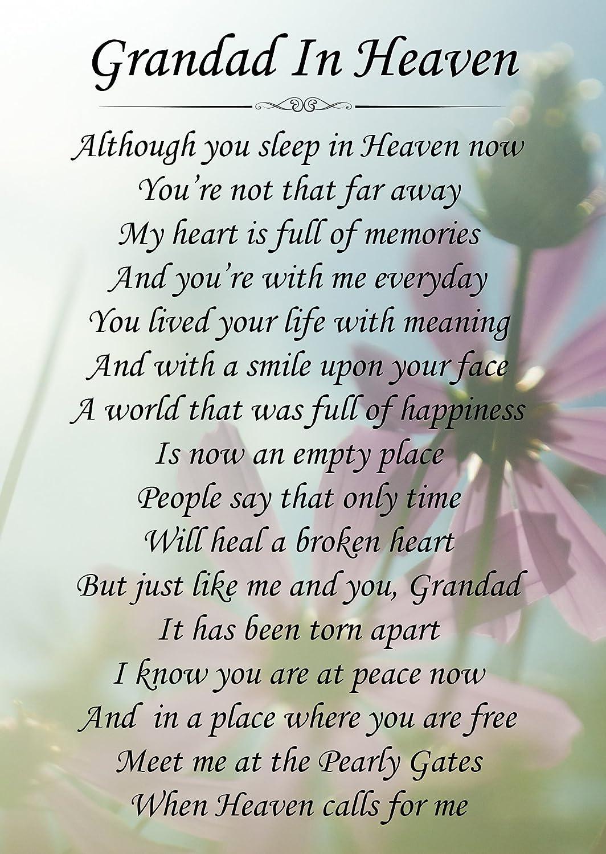 Birthday In Heaven Grandpa Quotes Quotesgram