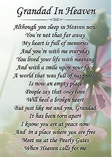 In Loving Memory Of A Special Grandad Memorial Graveside Funeral