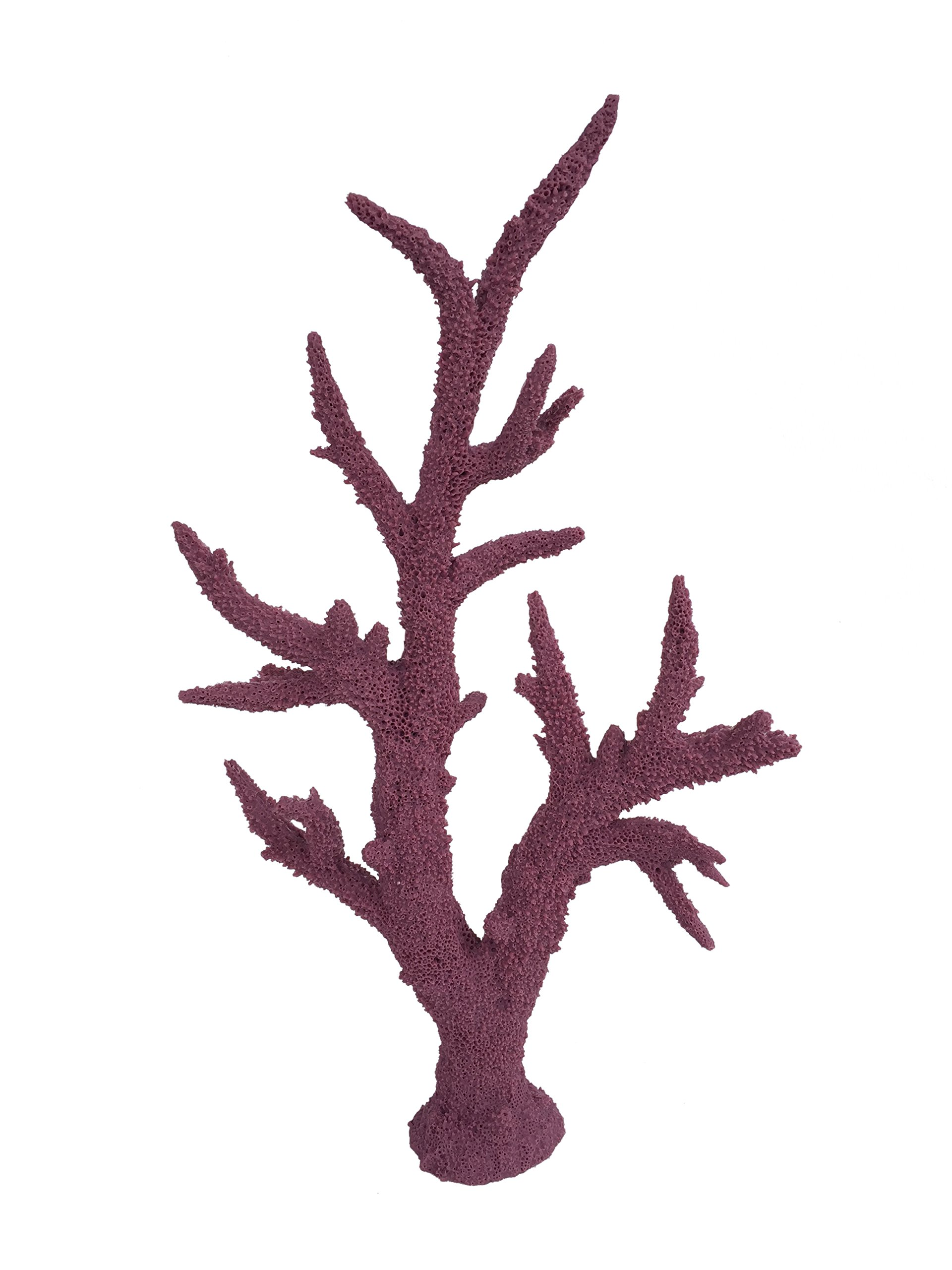 WECO South Pacific Coral Replica Staghorn Tall Purple - Med by WECO South Pacific