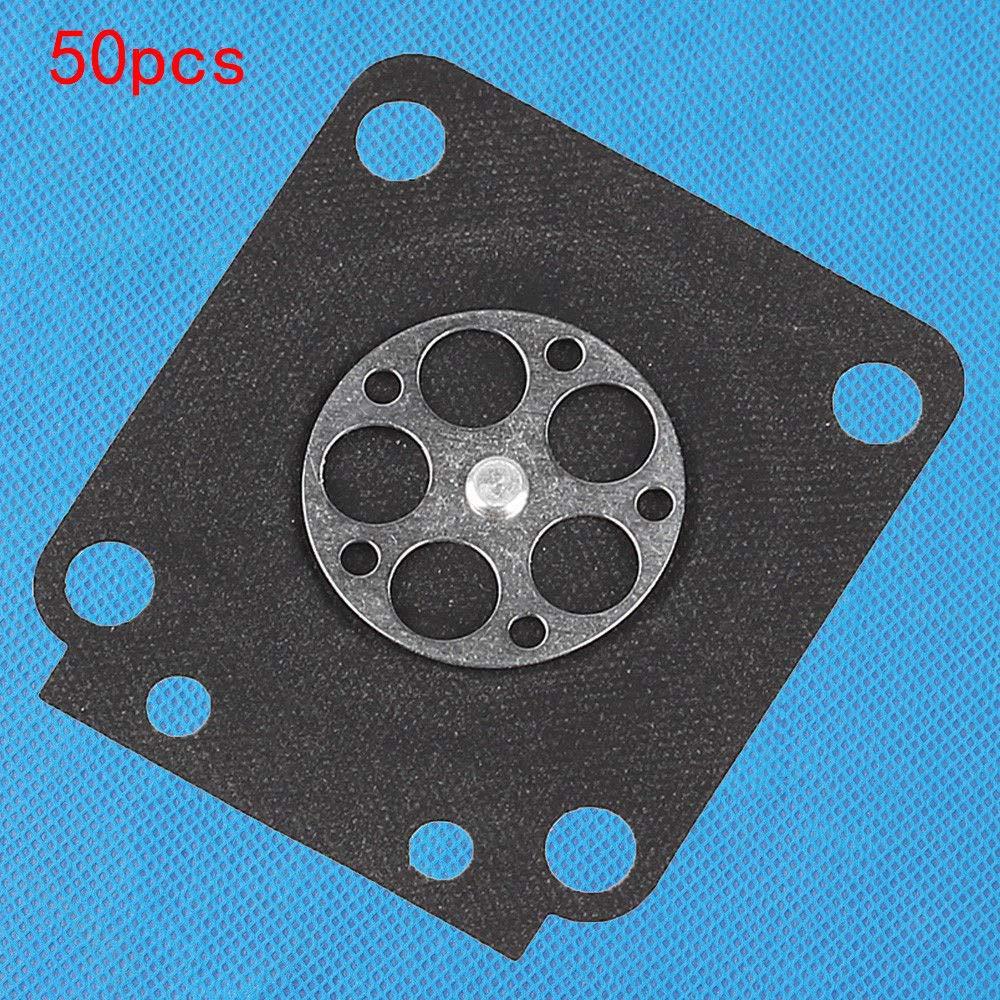 FidgetKute 50Pcs A015002 Carburetor Metering Diaphragms for Zama carb