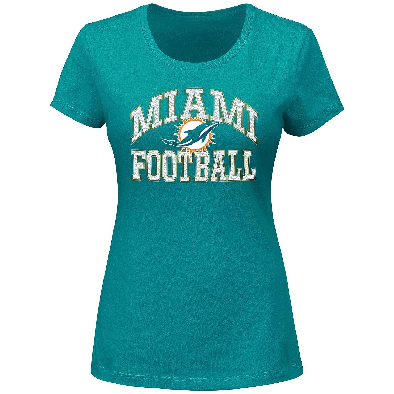 最大の割引 NFL Miami NFL Dolphins Short SleevedスクープネックTシャツ、1 x、アクア x Miami、アクア B01E7LFN4U, GLOBAL BRANDING:19a211ac --- a0267596.xsph.ru